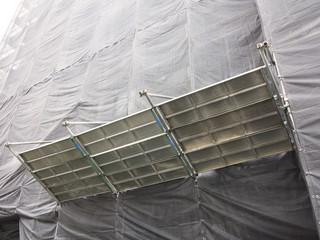 工事現場の安全柵