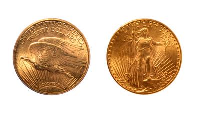 "USA 1925 20 Dollars ""Saint Gaudens Double Eagle"" Gold Coin"