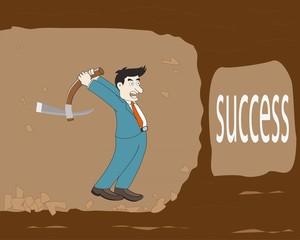Businessman find success