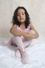 a bailarina cansada