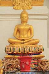 Buddha statue at Wat Khun Sai, Uthai, Ayutthaya
