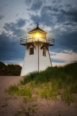 Dusk at Covehead Harbour Lighthouse, PEI