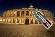 Arena di Verona with Metal Tag