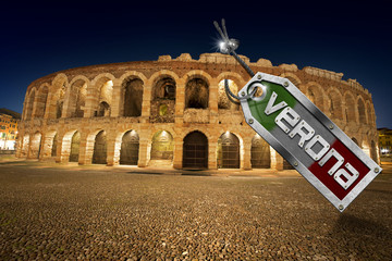 Arena di Verona with Metal Tag