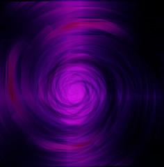 Purple black swirl dark light background