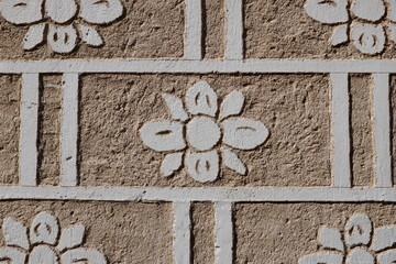 Murs décorés
