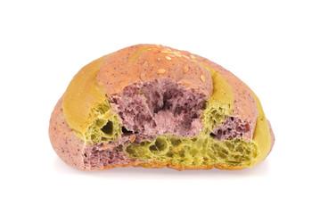 Taro bread with sesame
