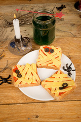 Halloween toasties