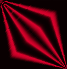 Red effect light abstract background
