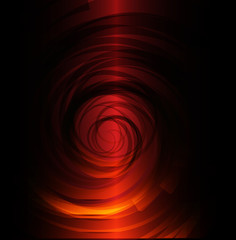 Red black spiral background