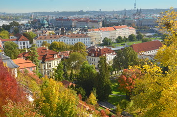 Prague in the Fall