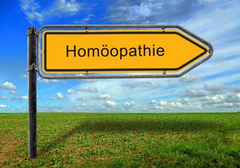 Strassenschild 17 - Homöopathie