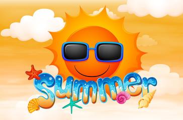 A summer artwork
