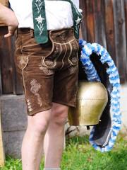 Oktoberfest und Viehscheid in Lederhosen