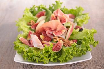 prosicutto with fresh fig