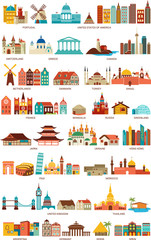 Homes from the world
