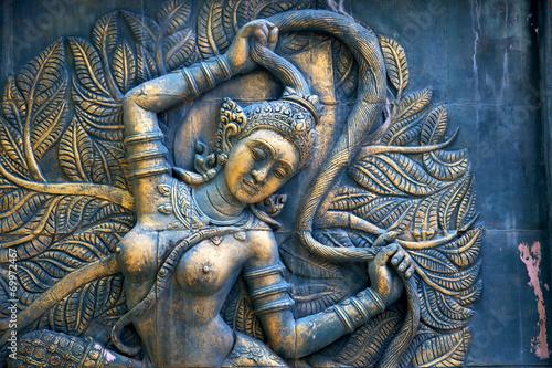 nacięcie bogów ziemi w zielonym kh phangan