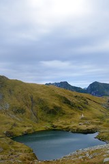 Lake Capra - Fagaras mountains, Romania