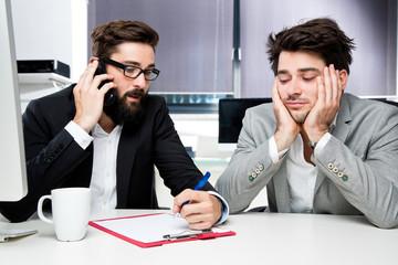 Unmotivierte Angestellte
