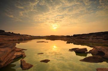 Sam-Pan-Bok Grand Canyon Ubon Ratchathani Thailand