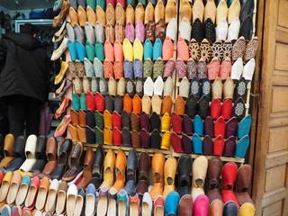 モロッコ 靴