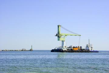морской грузовой танкер