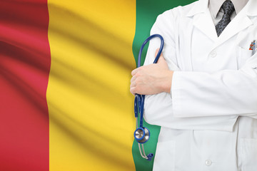 Concept of national healthcare system - Guinea