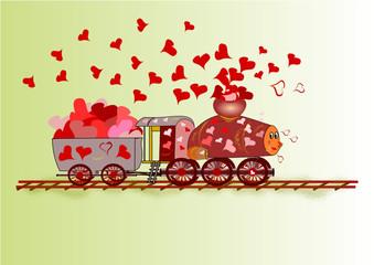 Il trenino dell'amore