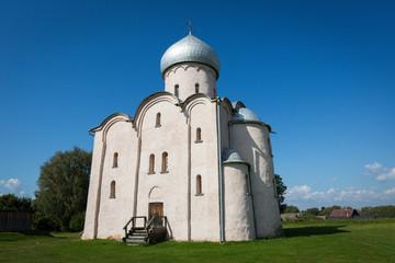 Church of the Saviour on Nereditsa.1198. Novgorod. Russia.