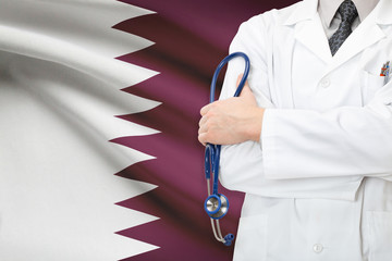 Concept of national healthcare system - Qatar