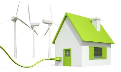 Haus mit Strom