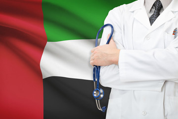 Concept of national healthcare system - United Arab Emirates