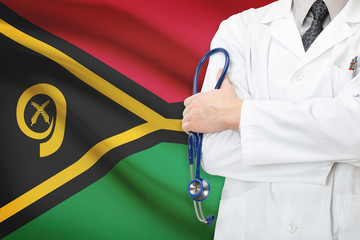 Concept of national healthcare system - Vanuatu