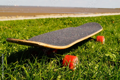 canvas print picture Skateboard