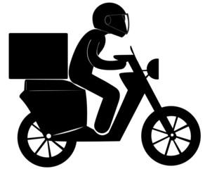 scooter livreur express