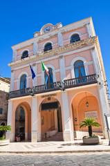 Town Hall Building. Torremaggiore. Puglia. Italy.