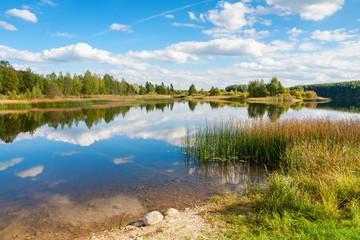 Lake. Estonia