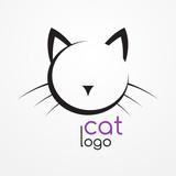 Fototapety Cat logo