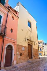 Church of St. Anna. Torremaggiore. Puglia. Italy.