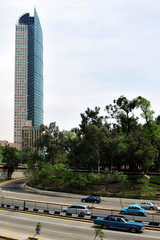 Torre Mayor building in Mexico City