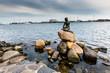 The Little Mermaid is a bronze statue in Copenhagen,Denmark - 69979235