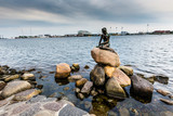 The Little Mermaid is a bronze statue in Copenhagen,Denmark