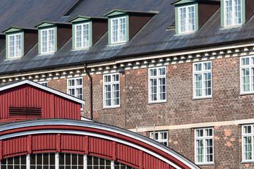 Traditional architecture in Copehnagen, Denmark