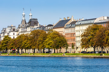 Sortedams Soe in Copenhagen, Denmark