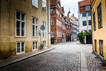 Traditional architecture in Copenhagen, Denmark