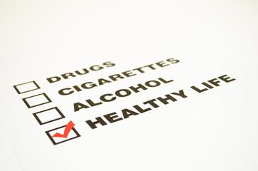 Bad habits list