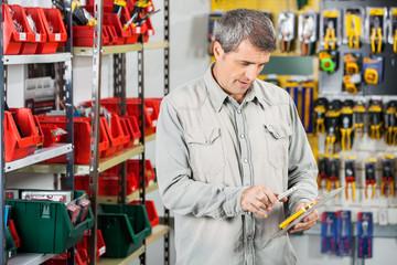 Customer Scanning Tool Packet Through Smartphone