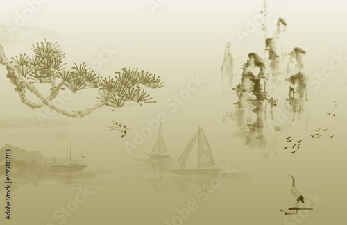 canvas print picture China