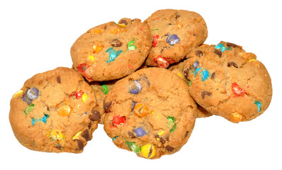Candy Covered Cookies