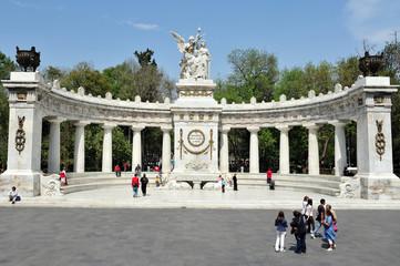 Monument to Benito Juarez in Mexico City -Mexico